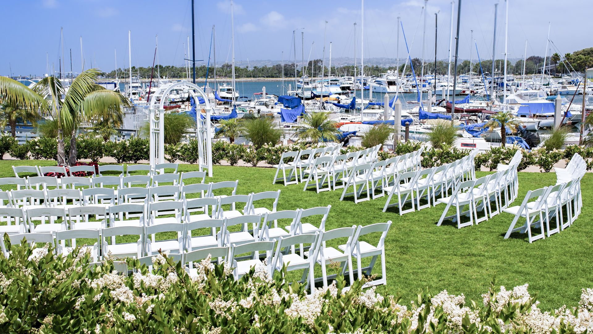 We Also Offer Two Ballrooms That Can Accommodate Diffe Types Of Wedding Receptions Our Mission Bay Ballroom Features A More Traditional Setup Round